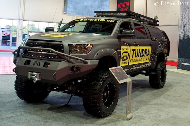 Team tundra fishing truck submited images