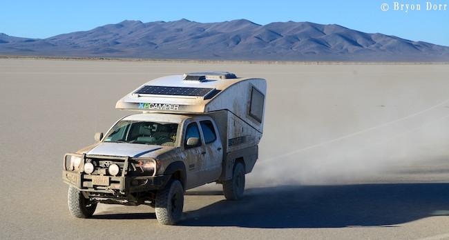 fiber glass truck campers