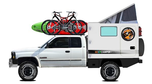 The Exploring Elements Overland Adventure Vehicle