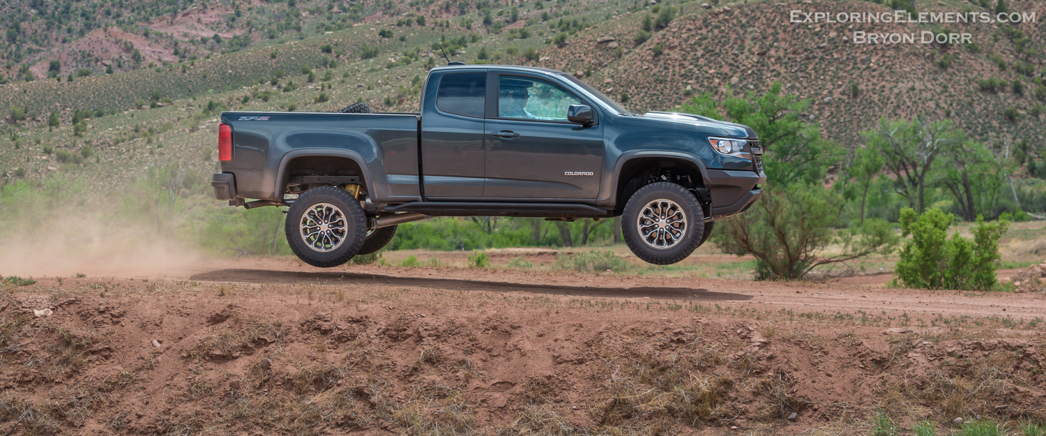 Launched Chevy Colorado Zr2 Exploring Elements